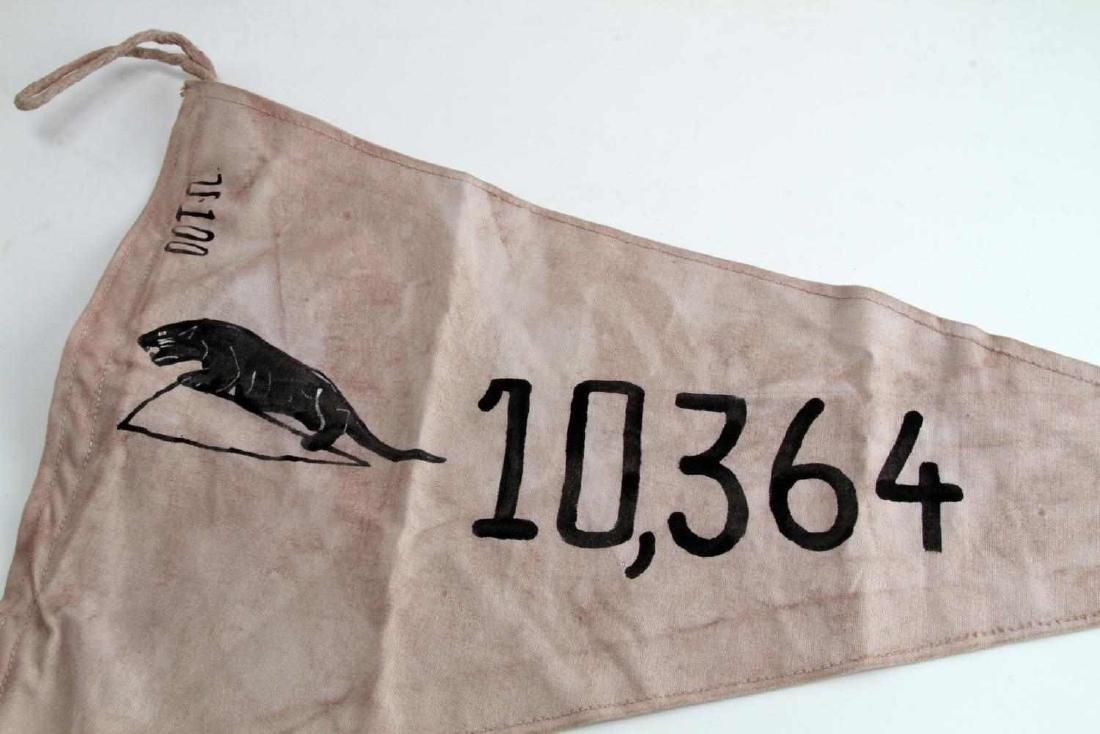 WWII GERMAN THIRD REICH NAVAL UBOAT TONNAGE FLAG - 2