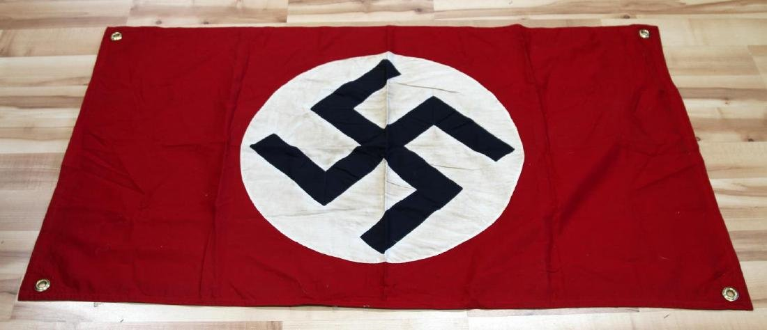 GERMAN WWII POLITICAL NSDAP PARTY SWASTIKA FLAG
