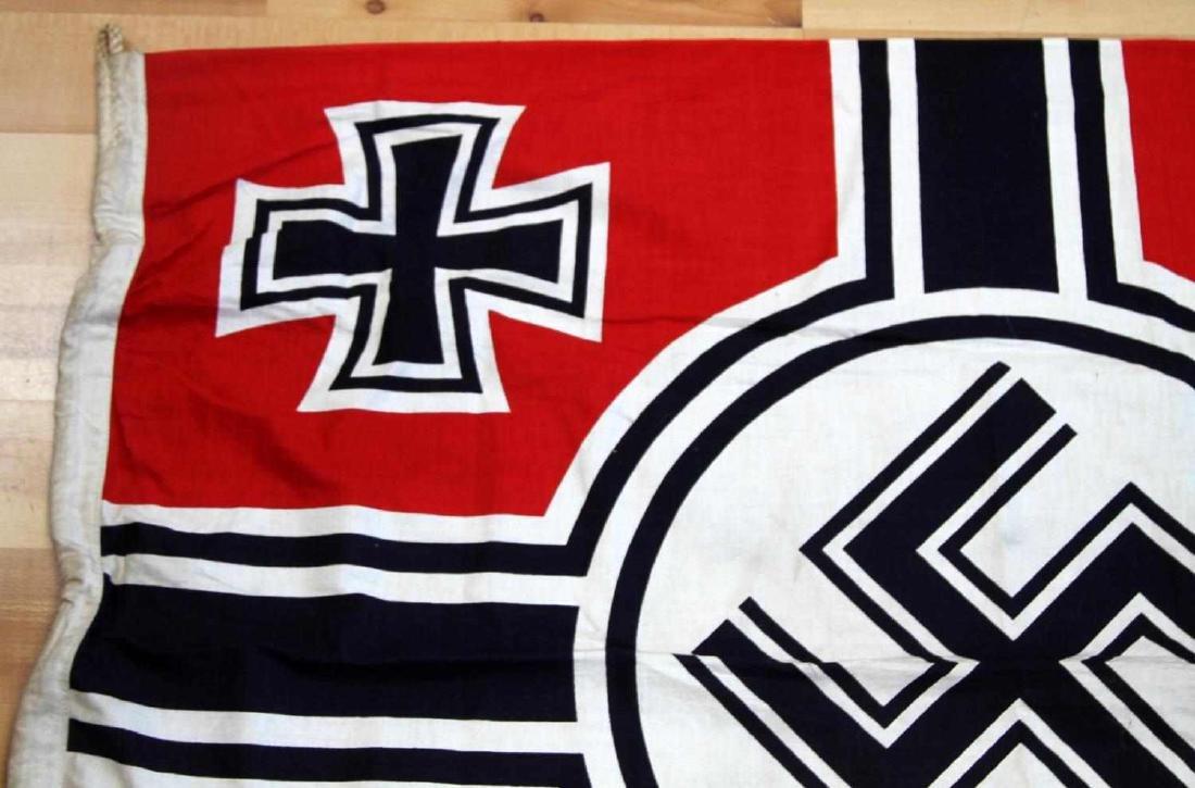 GERMAN WWII THIRD REICH COMBAT BATTLE FLAG - 3