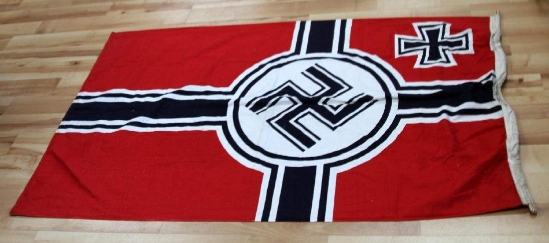 GERMAN WWII THIRD REICH COMBAT BATTLE FLAG - 4