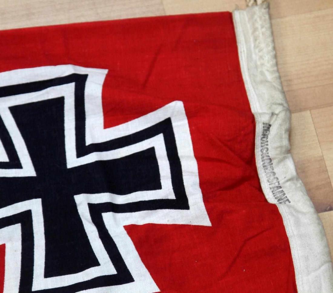 GERMAN WWII THIRD REICH COMBAT BATTLE FLAG - 5
