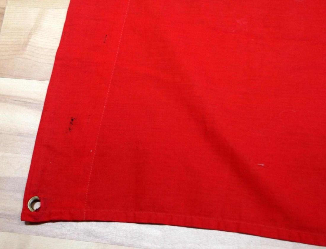 GERMAN WWII 3RD REICH COMBAT SWASTIKA BATTLE FLAG - 3