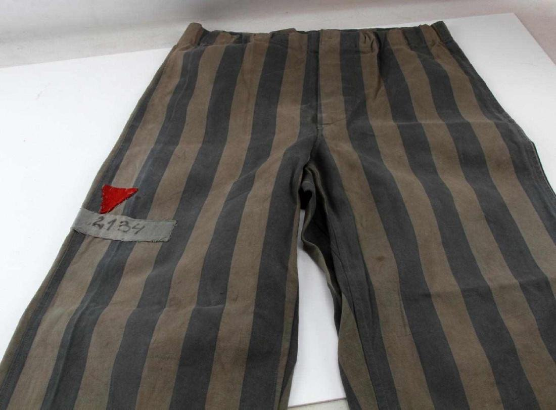 GERMAN WWII JEWISH CONCENTRATION CAMP PANTS - 3