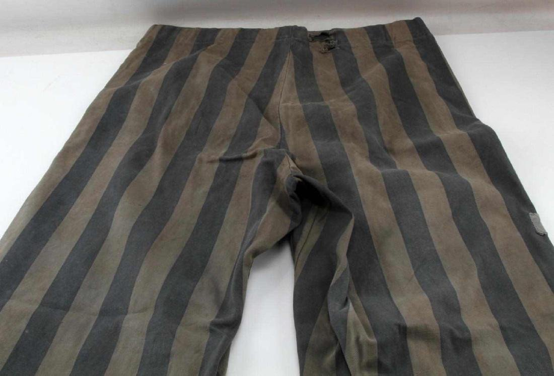 GERMAN WWII JEWISH CONCENTRATION CAMP PANTS - 6