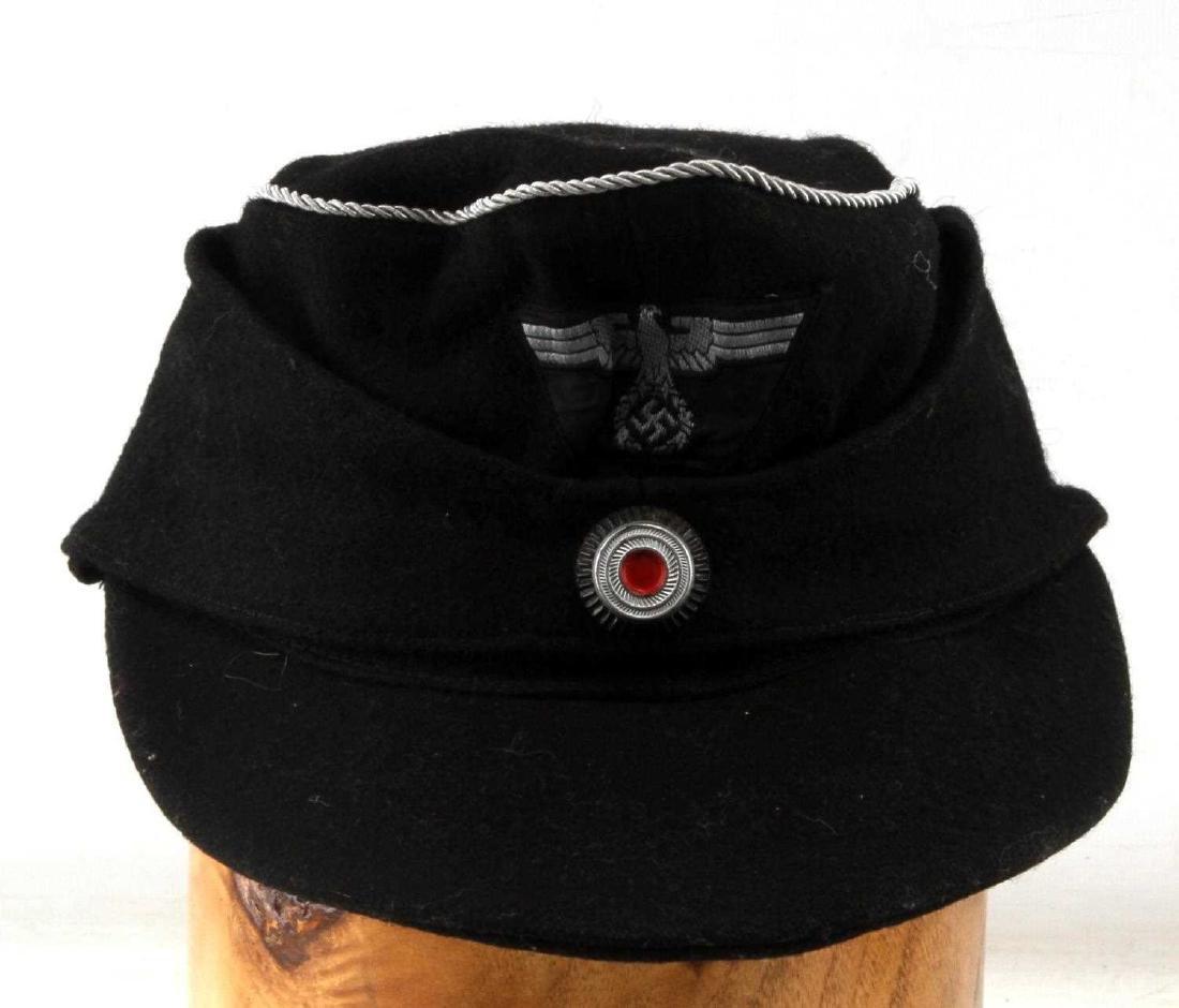 GERMAN WWII THIRD REICH PANZER OFFICERS M43 CAP