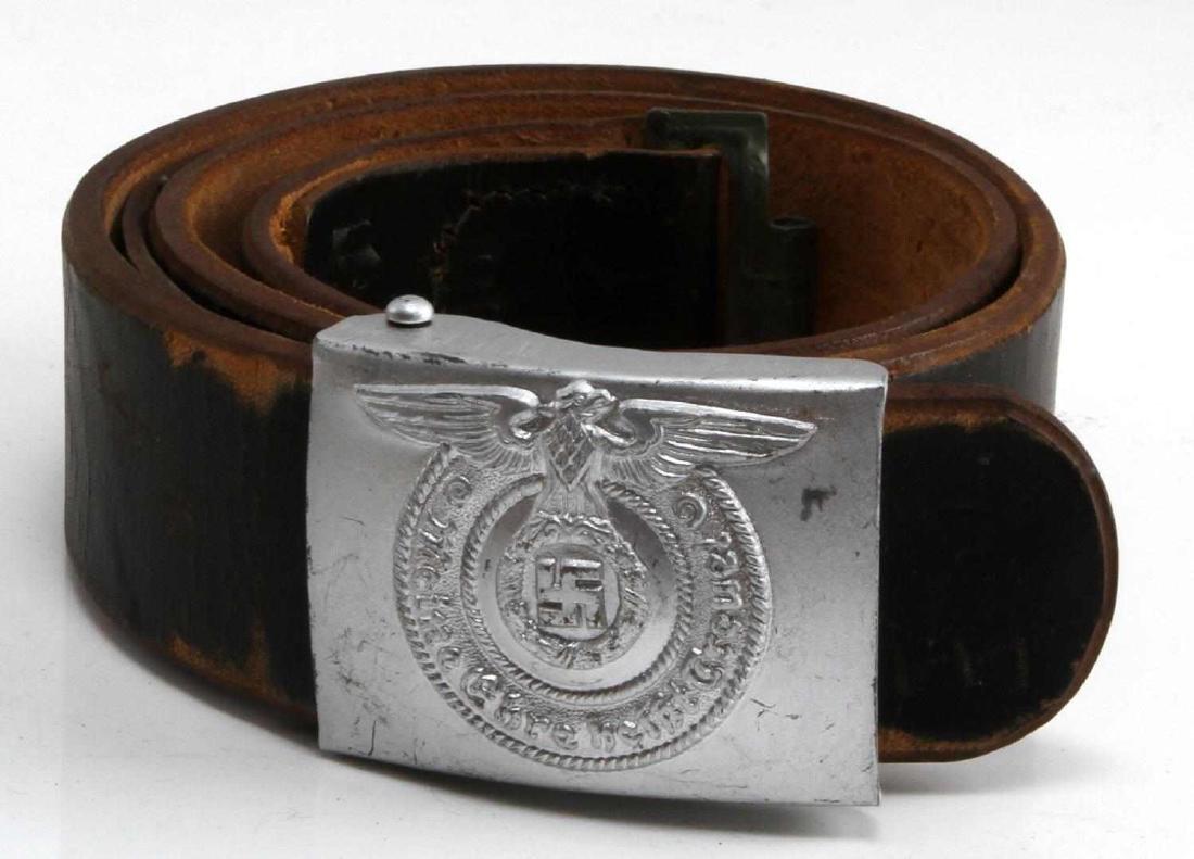 WWII GERMAN THIRD REICH WAFFEN SS BELT WITH BUCKLE