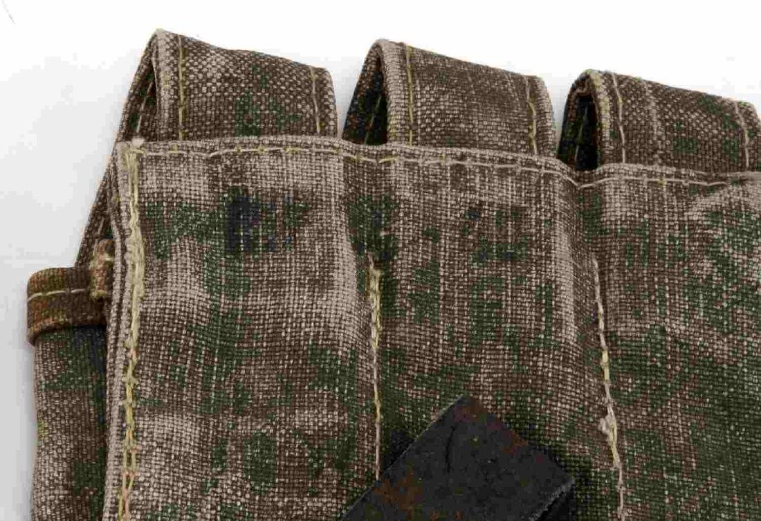 WWII GERMAN THIRD REICH WAFFEN SS SMG MAG POUCHES - 3