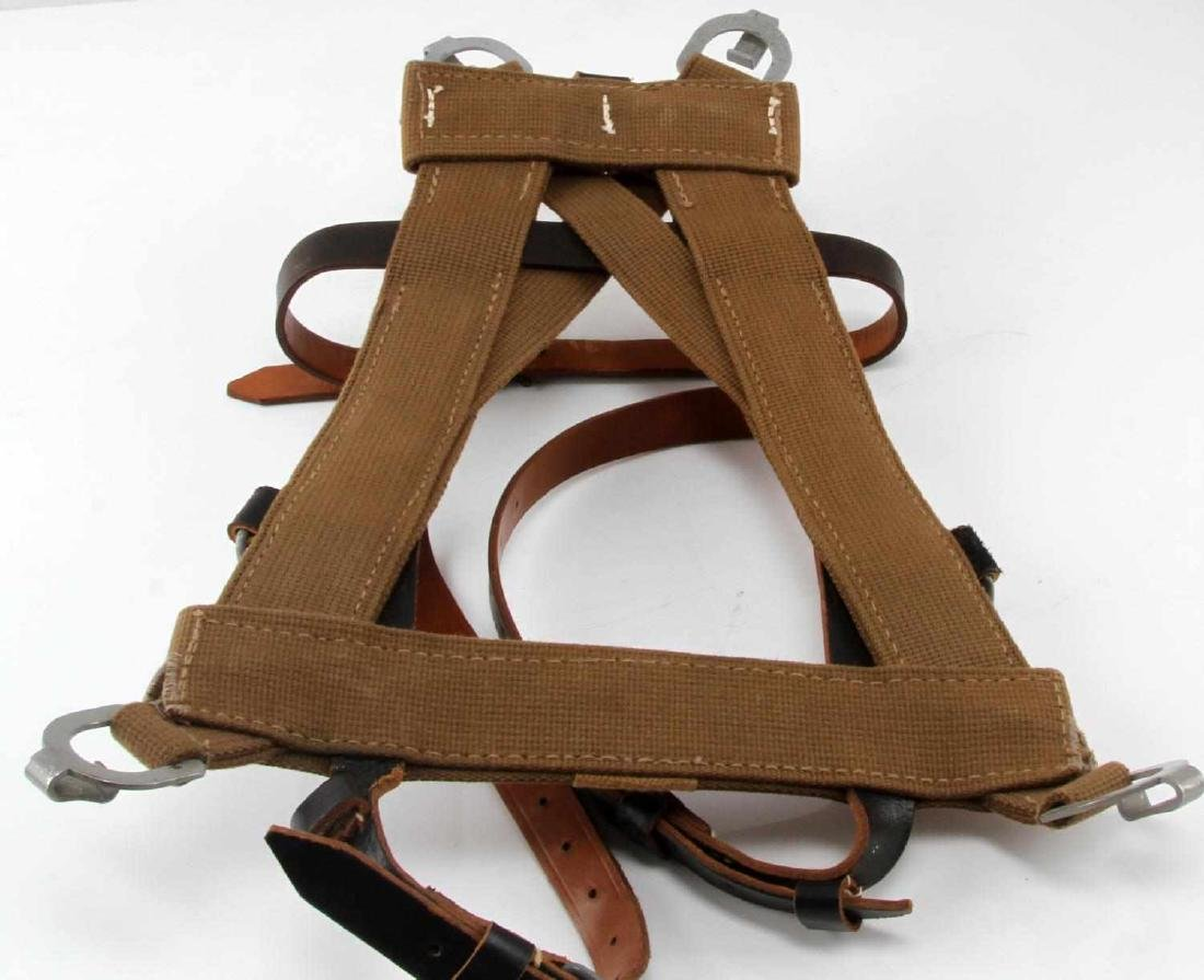 GERMAN WWII MILITARY COMBAT BACKPACK A FRAME - 3