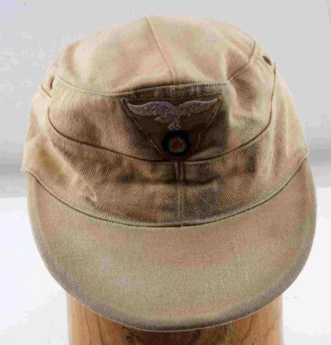 GERMAN WWII LUFTWAFFE TROPICAL AFRIKA KORPS CAP