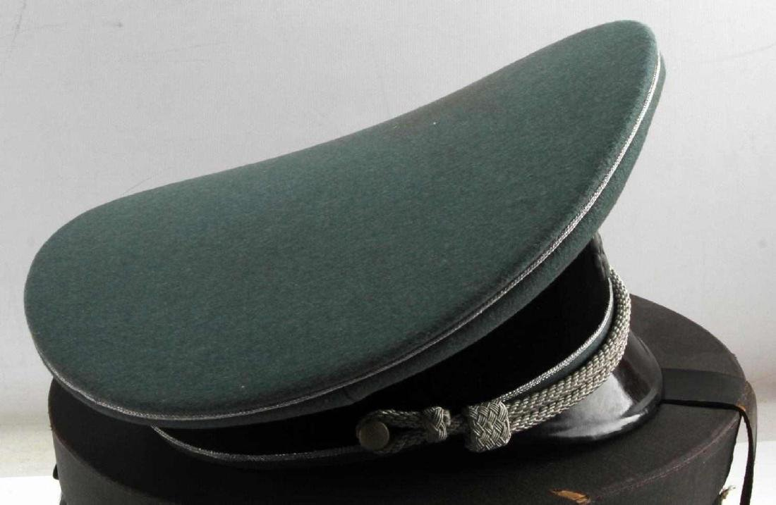 WWII GERMAN THIRD REICH WAFFEN SS VISOR CAP BOXED - 3