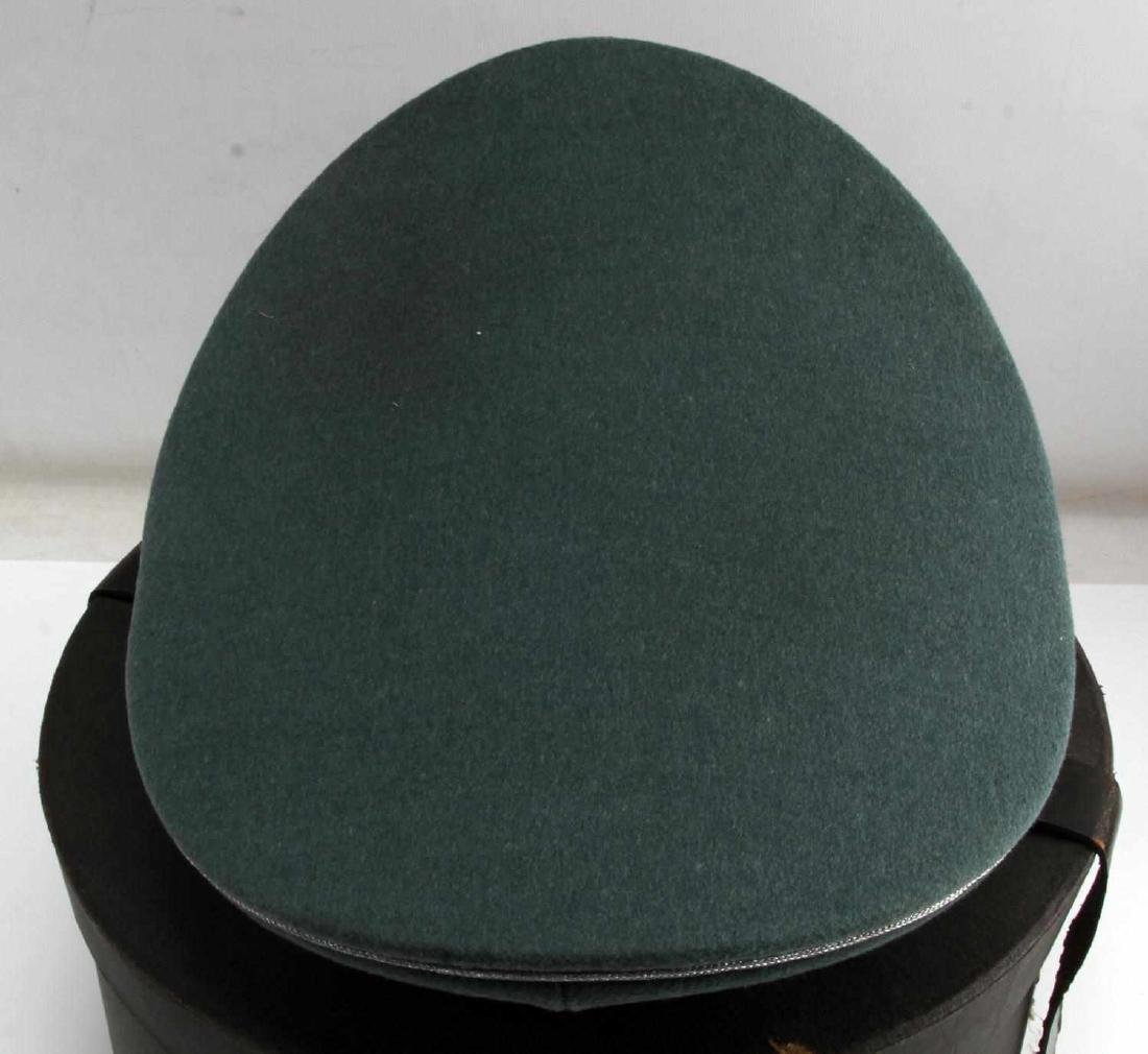 WWII GERMAN THIRD REICH WAFFEN SS VISOR CAP BOXED - 4