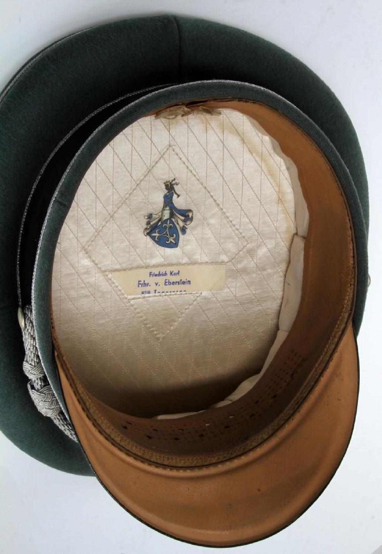 WWII GERMAN THIRD REICH WAFFEN SS VISOR CAP BOXED - 5