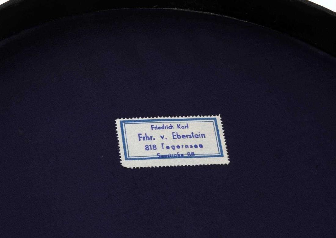 WWII GERMAN THIRD REICH WAFFEN SS VISOR CAP BOXED - 8