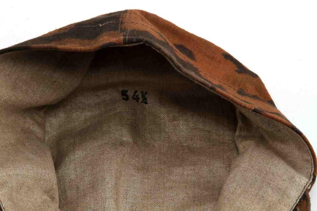 GERMAN WWII WAFFEN SS CAMO EM M-41 FIELD CAP - 5