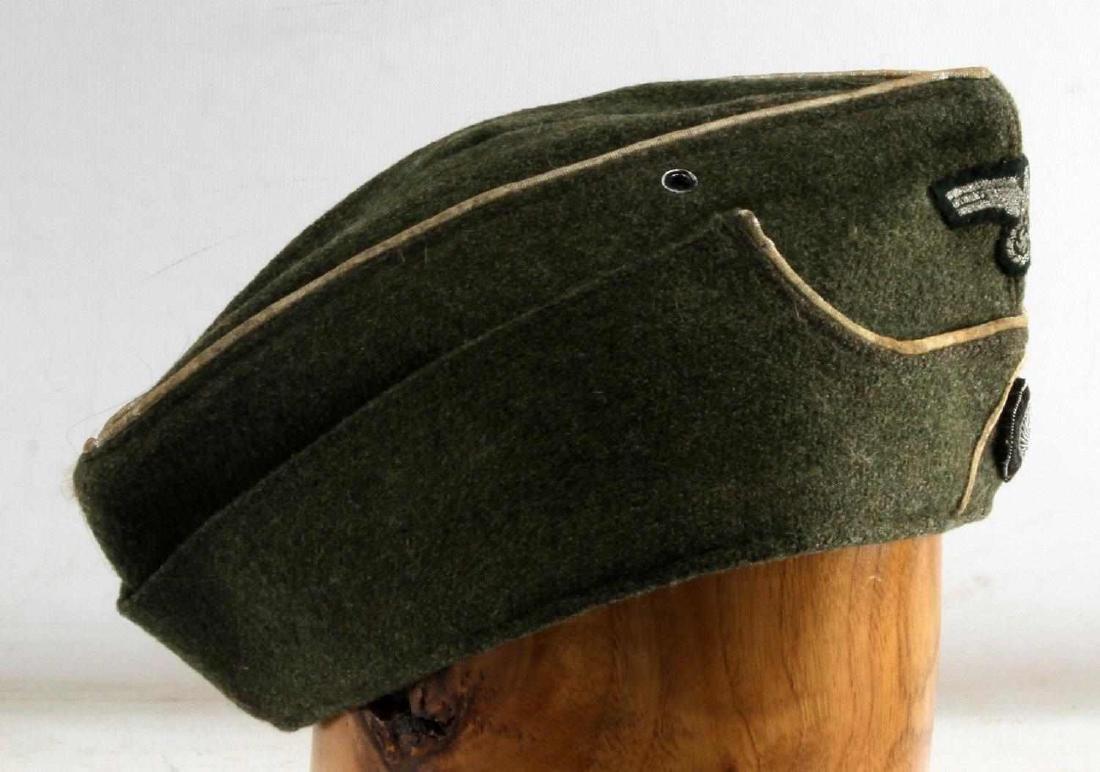 GERMAN WWII ARMY INFANTRY OFFICERS OVERSEAS CAP - 2