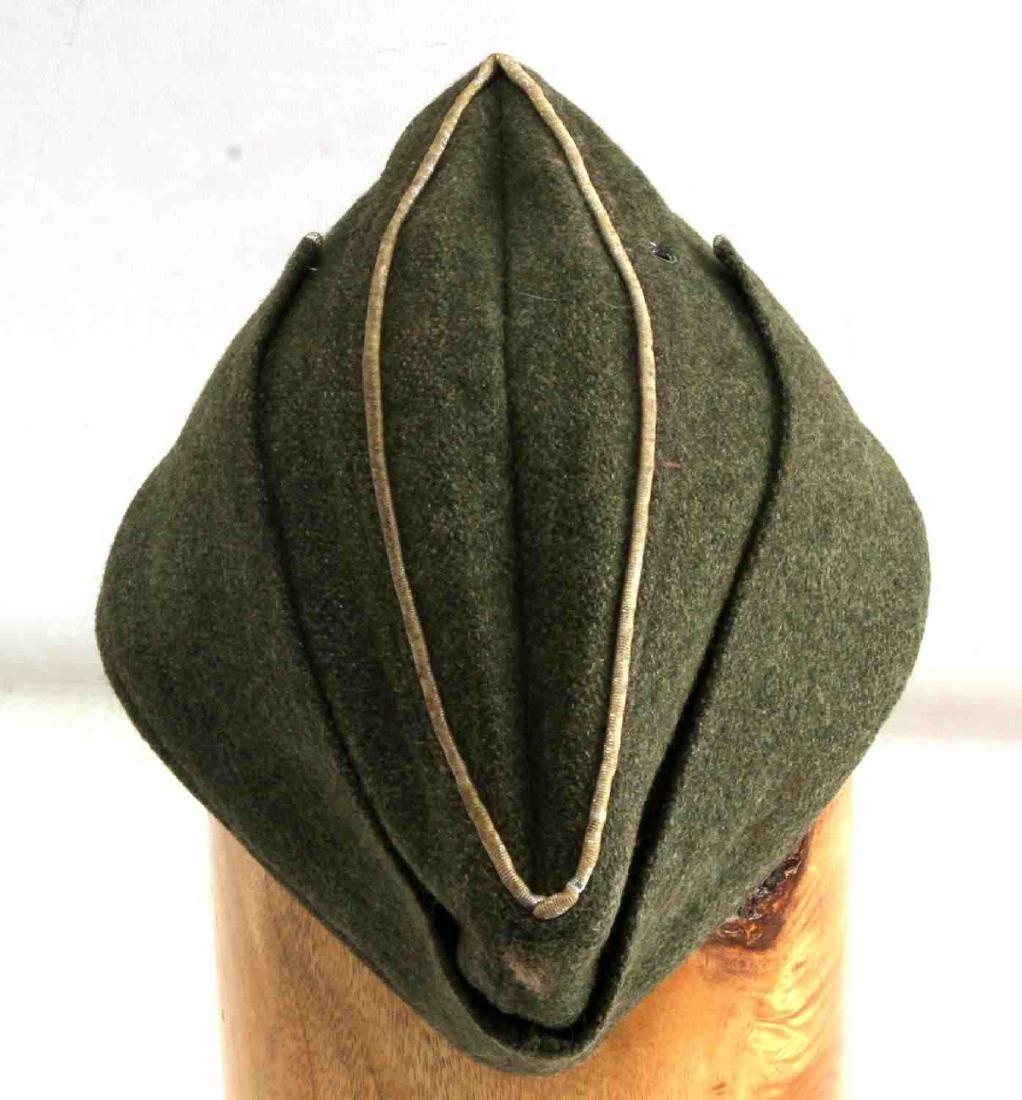 GERMAN WWII ARMY INFANTRY OFFICERS OVERSEAS CAP - 3