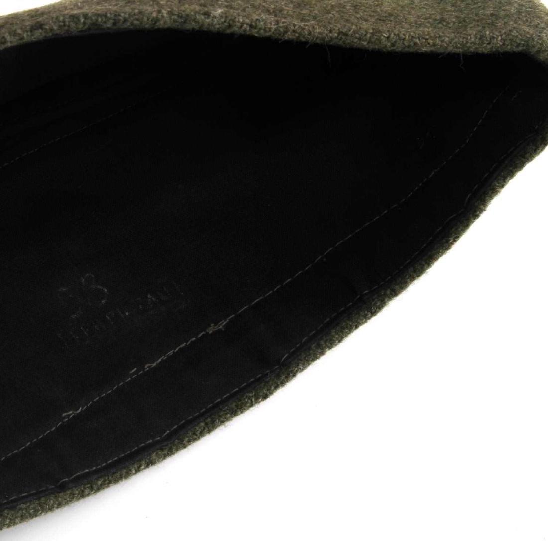 GERMAN WWII ARMY INFANTRY OFFICERS OVERSEAS CAP - 5