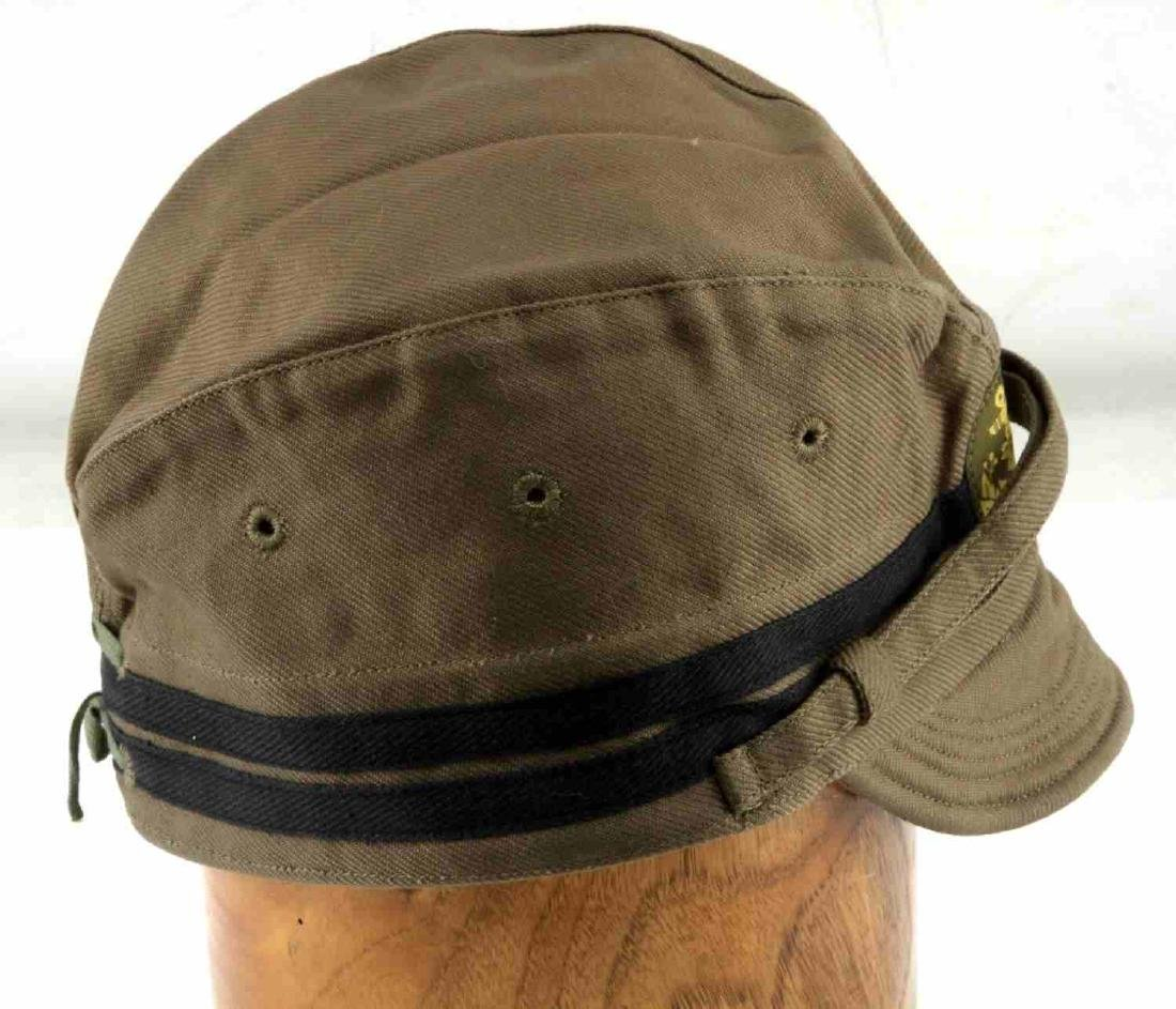IMPERIAL JAPANESE WWII NAVAL ENLISTED MANS CAP - 3
