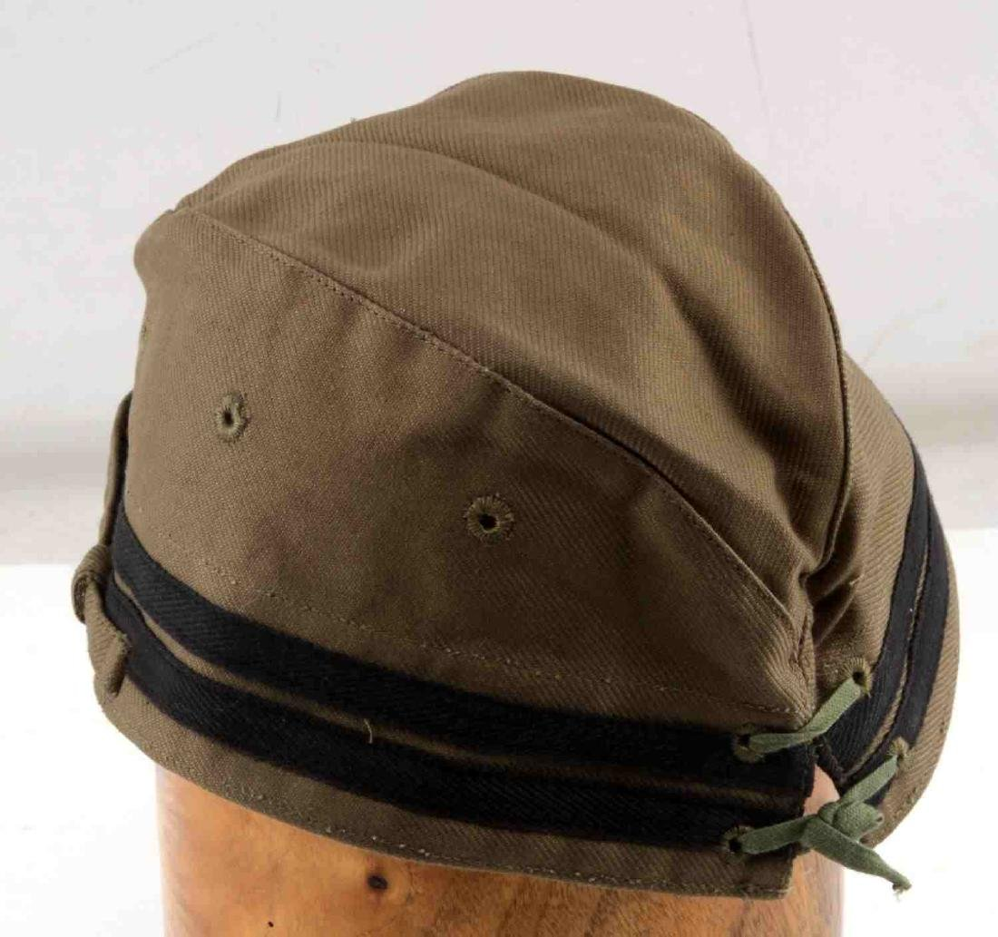IMPERIAL JAPANESE WWII NAVAL ENLISTED MANS CAP - 4