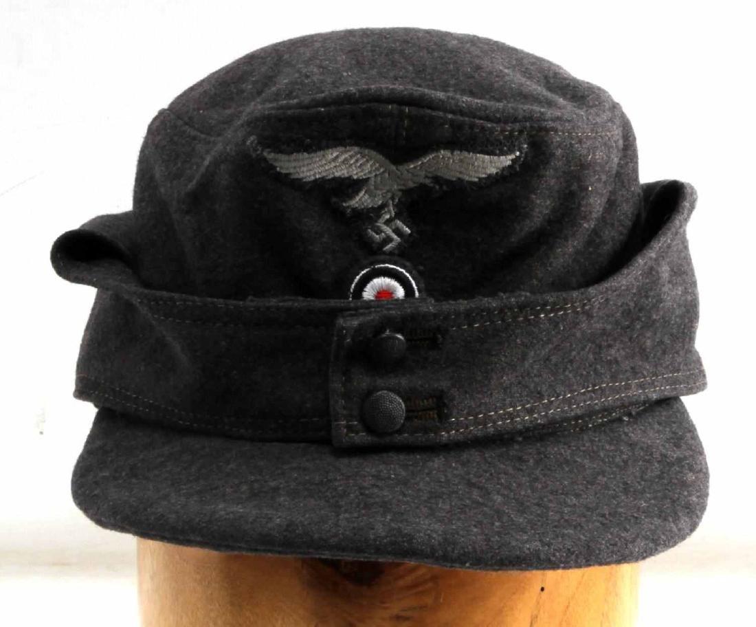 GERMAN WWII LUFTWAFFE ENLISTED MANS M43 CAP HAT