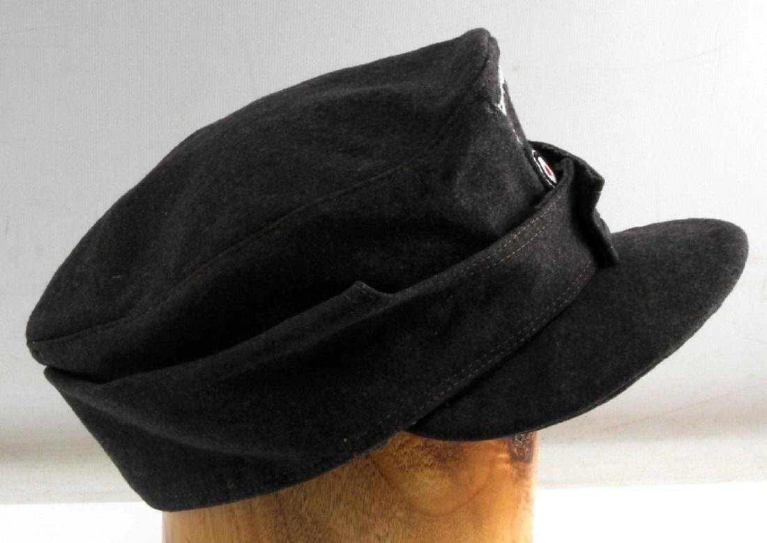 GERMAN WWII LUFTWAFFE ENLISTED MANS M43 CAP HAT - 3
