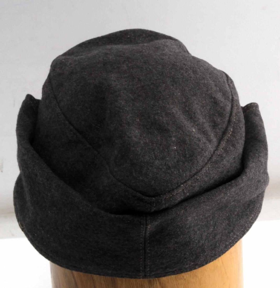 GERMAN WWII LUFTWAFFE ENLISTED MANS M43 CAP HAT - 4