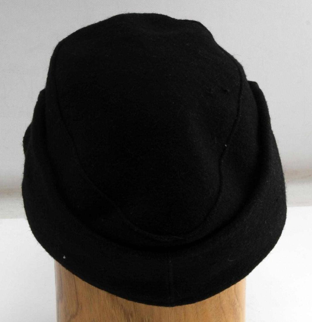 GERMAN WWII WAFFEN SS PANZER ENLISTED MANS M43 CAP - 4