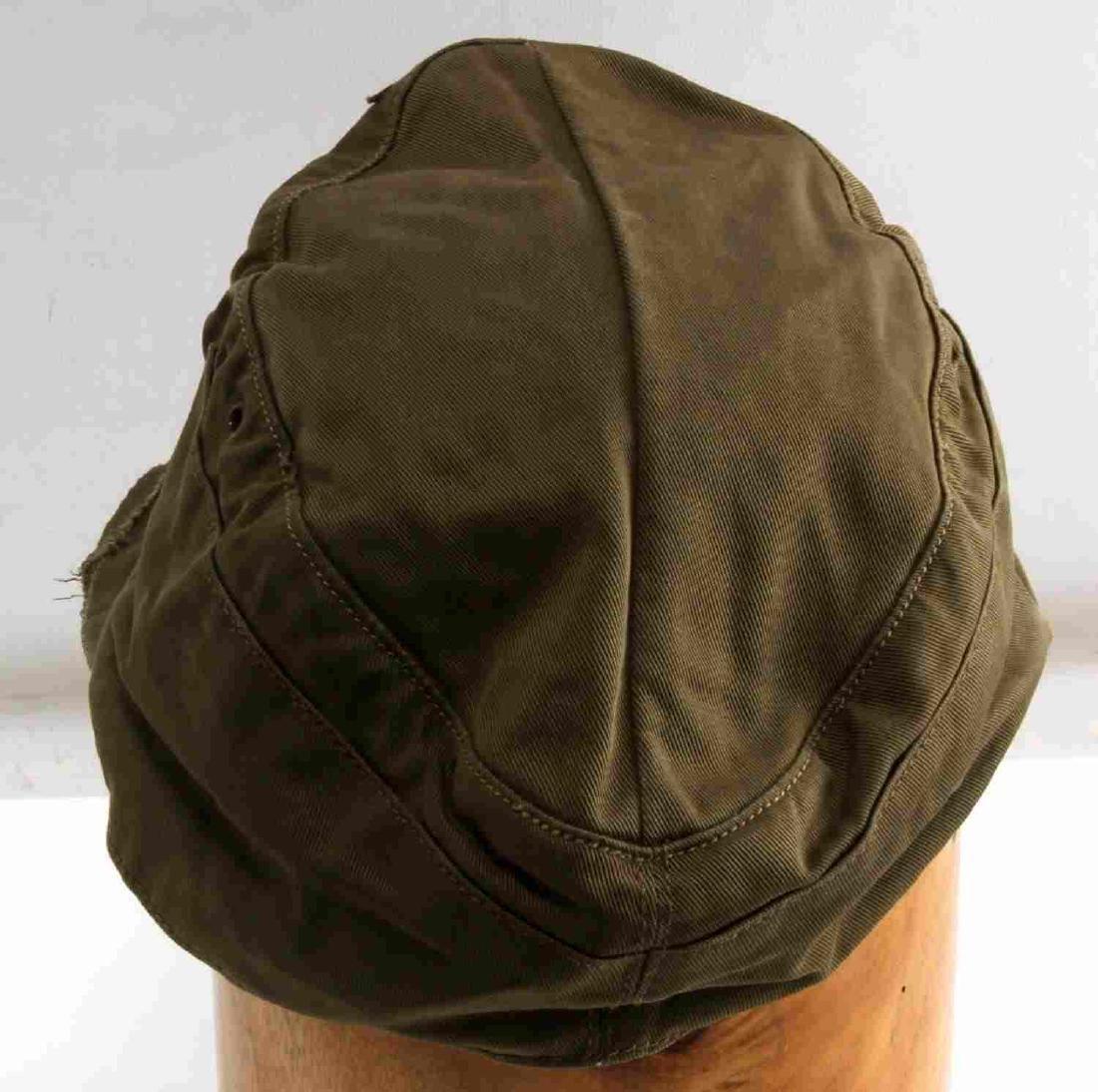 GERMAN WWII ARMY AFRIKA KORPS TROPICAL EM M41 CAP - 4