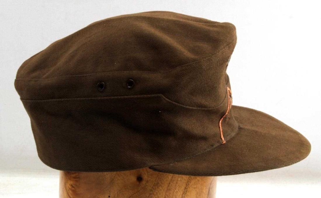 WWII GERMAN AFRIKA KORPS FIELD POLICE EM M41 CAP - 2