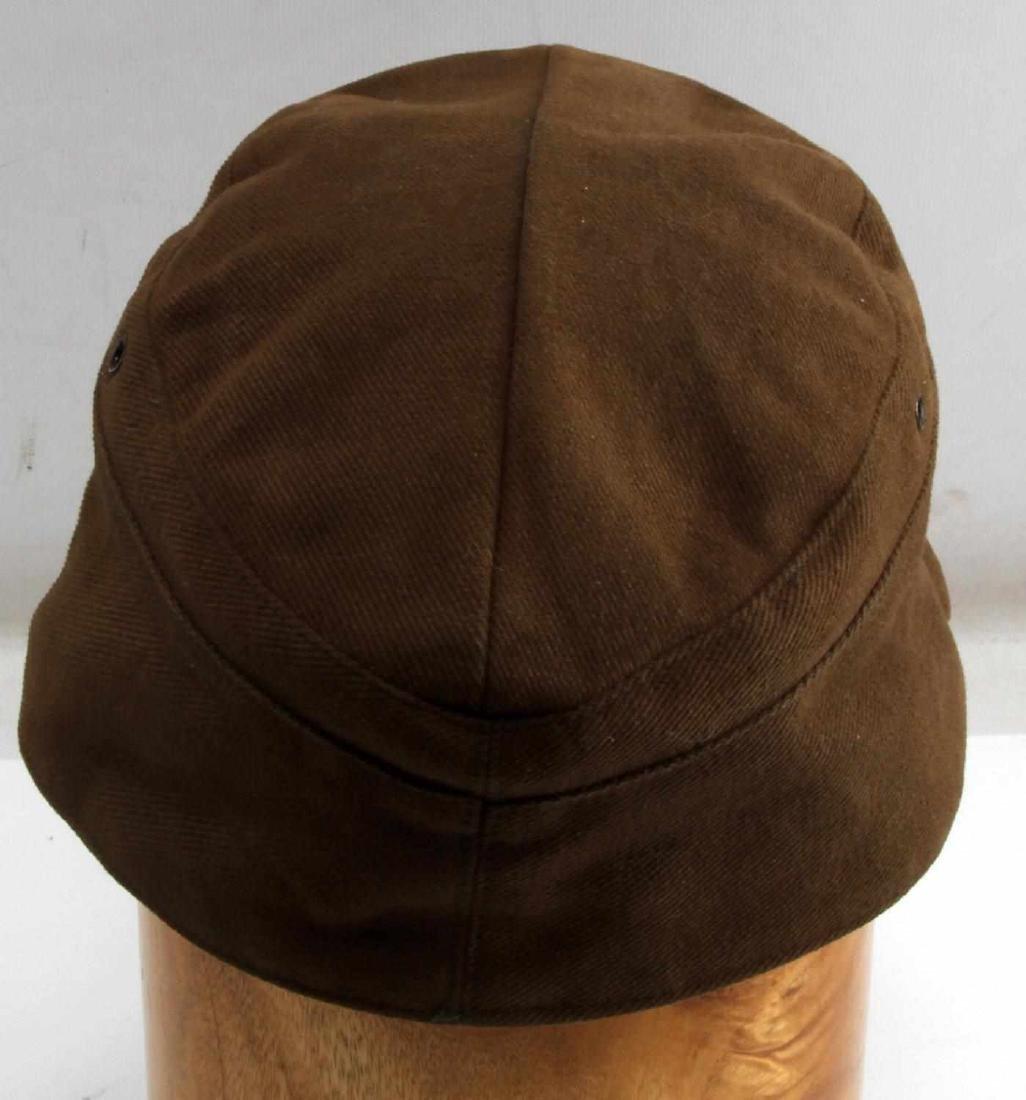 WWII GERMAN AFRIKA KORPS FIELD POLICE EM M41 CAP - 3