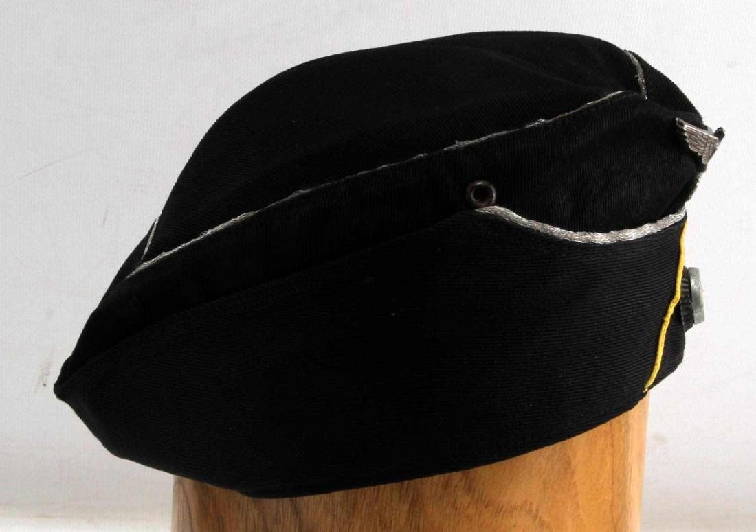 WWII GERMAN ARMY PANZER CAVALRY OVERSEAS CAP - 2