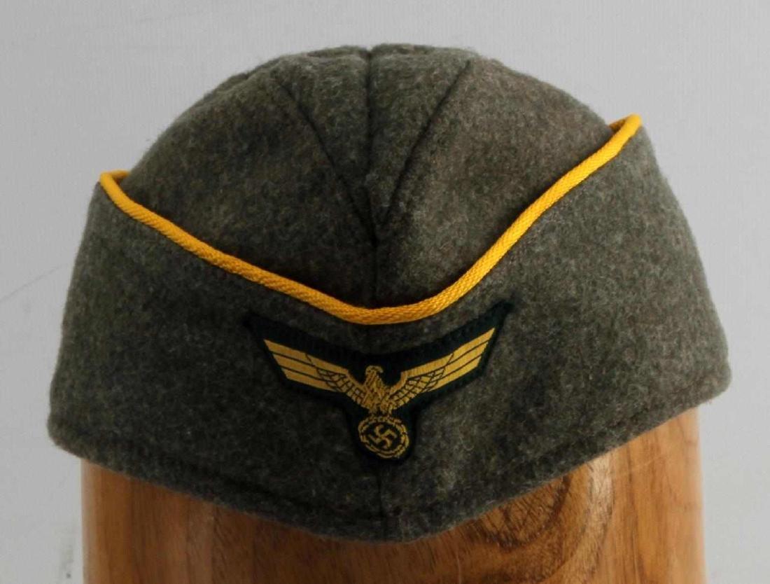 WWII GERMAN REICH COASTAL ARTILLERY OVERSEAS CAP