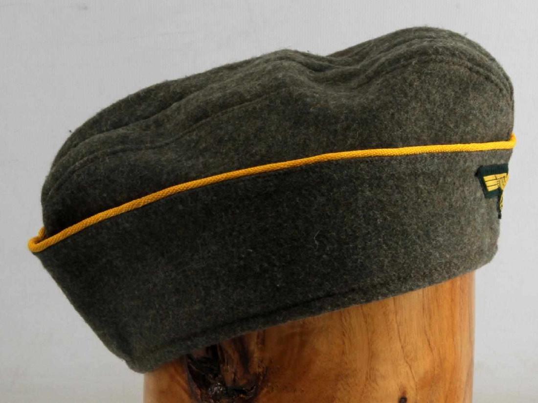 WWII GERMAN REICH COASTAL ARTILLERY OVERSEAS CAP - 2