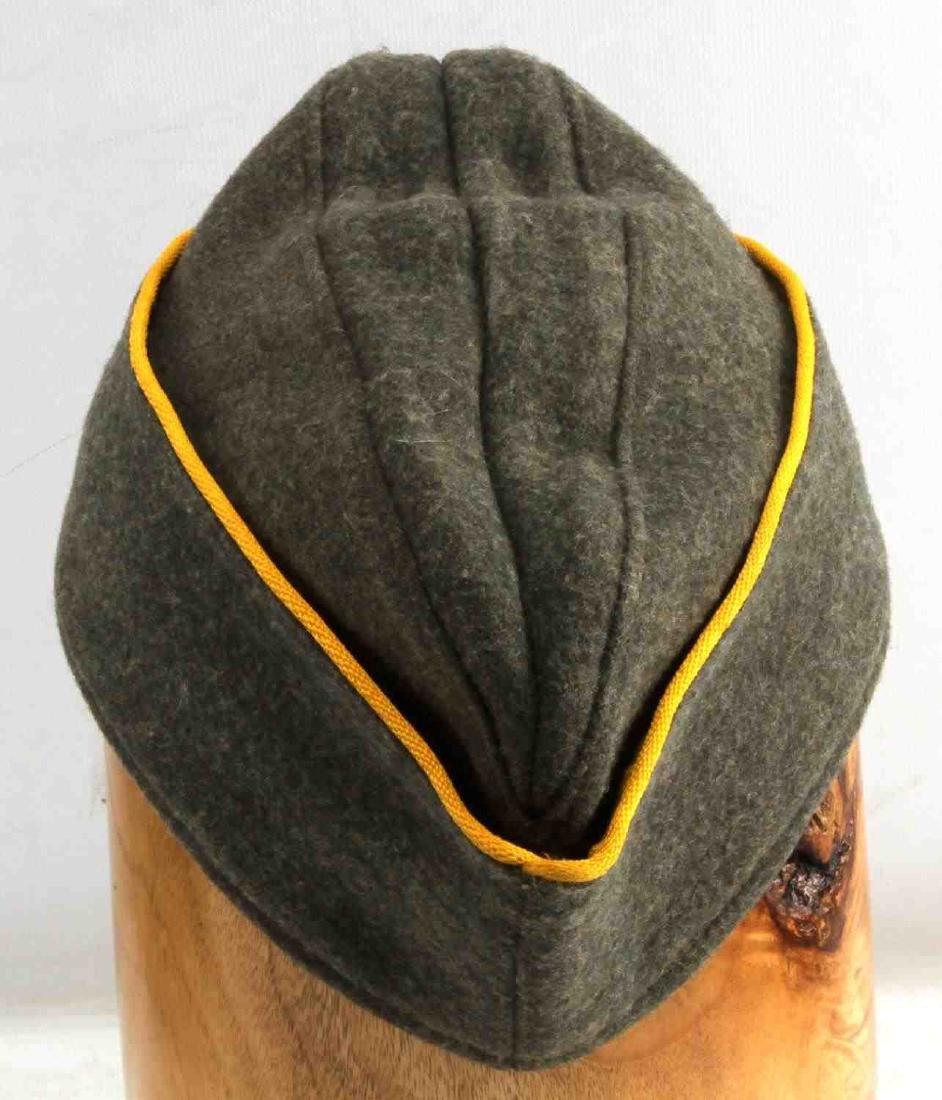 WWII GERMAN REICH COASTAL ARTILLERY OVERSEAS CAP - 3