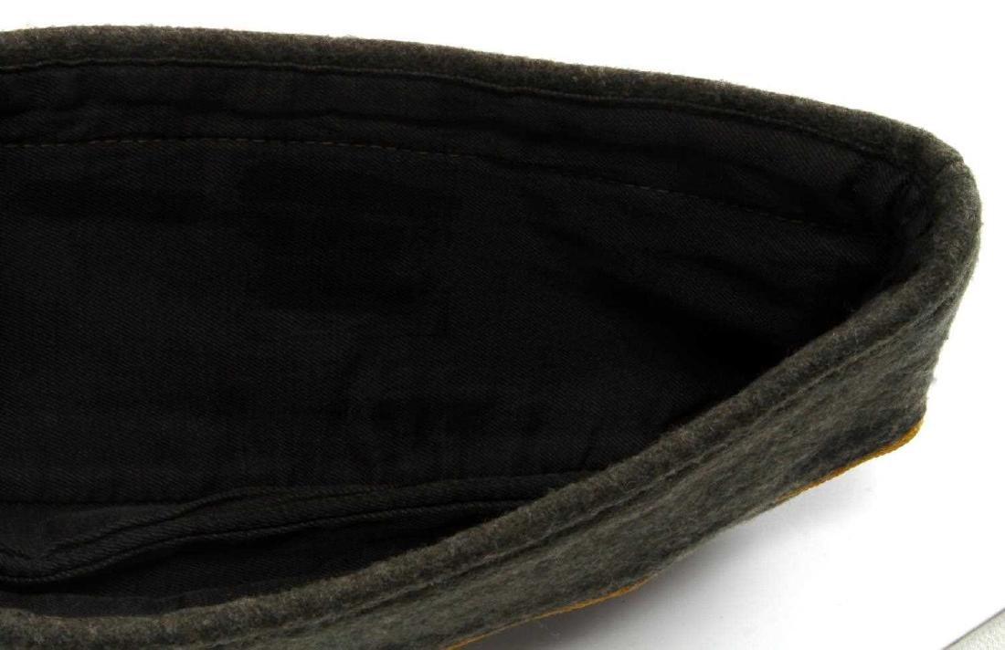 WWII GERMAN REICH COASTAL ARTILLERY OVERSEAS CAP - 4