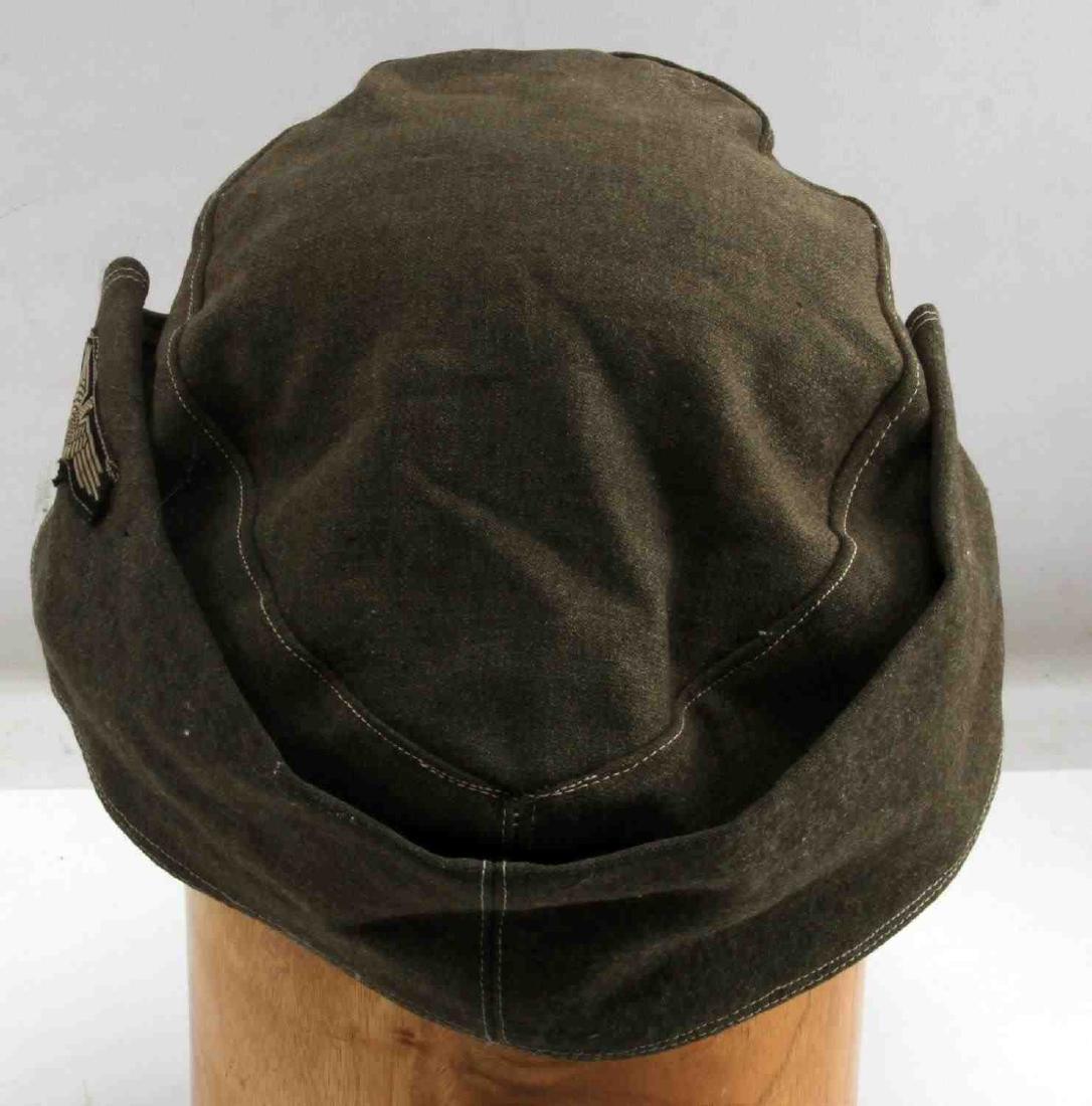 WWII GERMAN THIRD REICH WAFFEN SS COMBAT FIELD CAP - 3