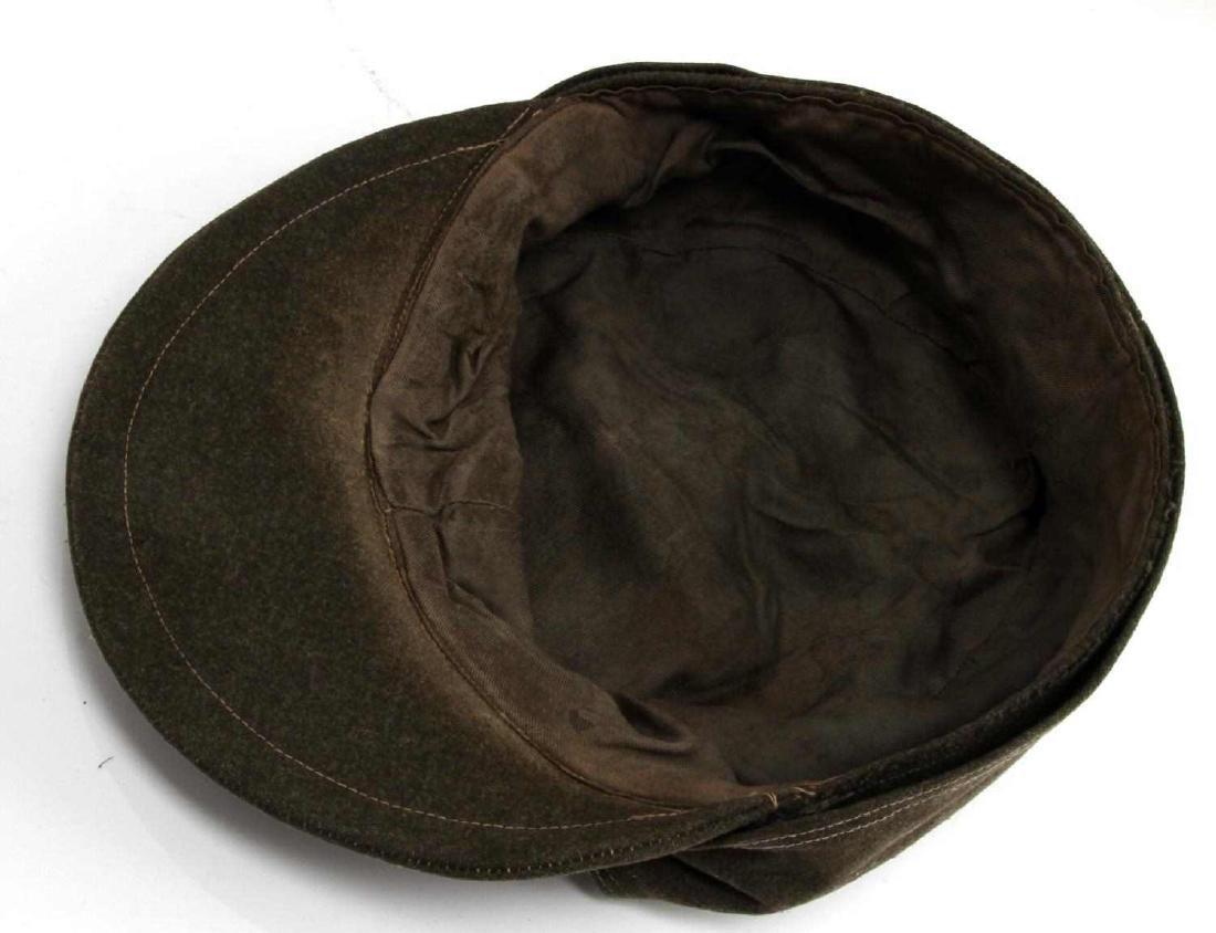 WWII GERMAN THIRD REICH WAFFEN SS COMBAT FIELD CAP - 5