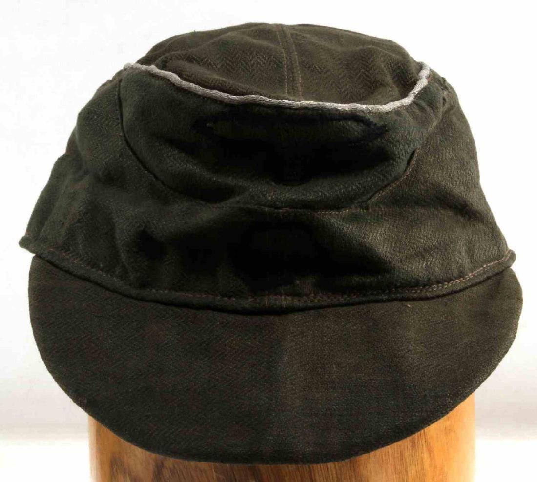 WWII GERMAN 3RD REICH WAFFEN SS OFFICER FIELD CAP