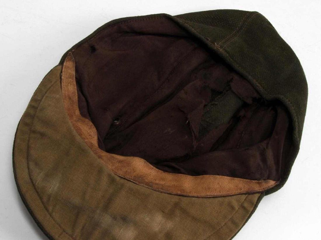 WWII GERMAN 3RD REICH WAFFEN SS OFFICER FIELD CAP - 5