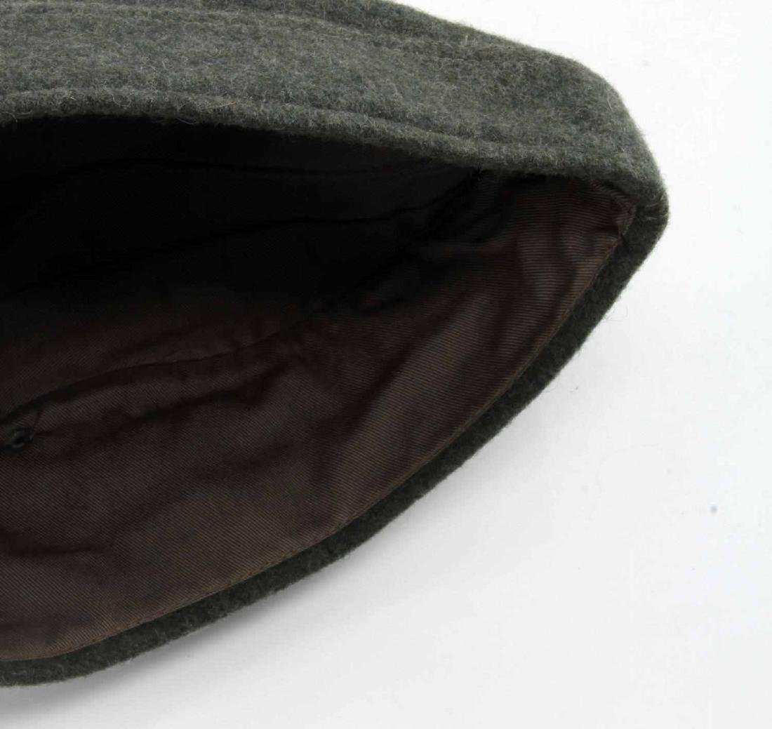 GERMAN WWII ARMY INFANTRY EM OVERSEAS CAP GREEN - 5