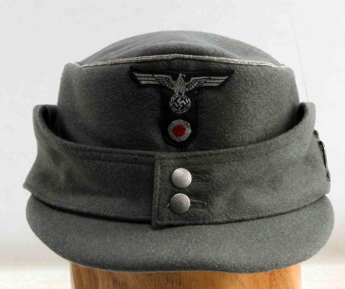 WWII GERMAN THIRD REICH ARMY MOUNTAIN OFFICER CAP