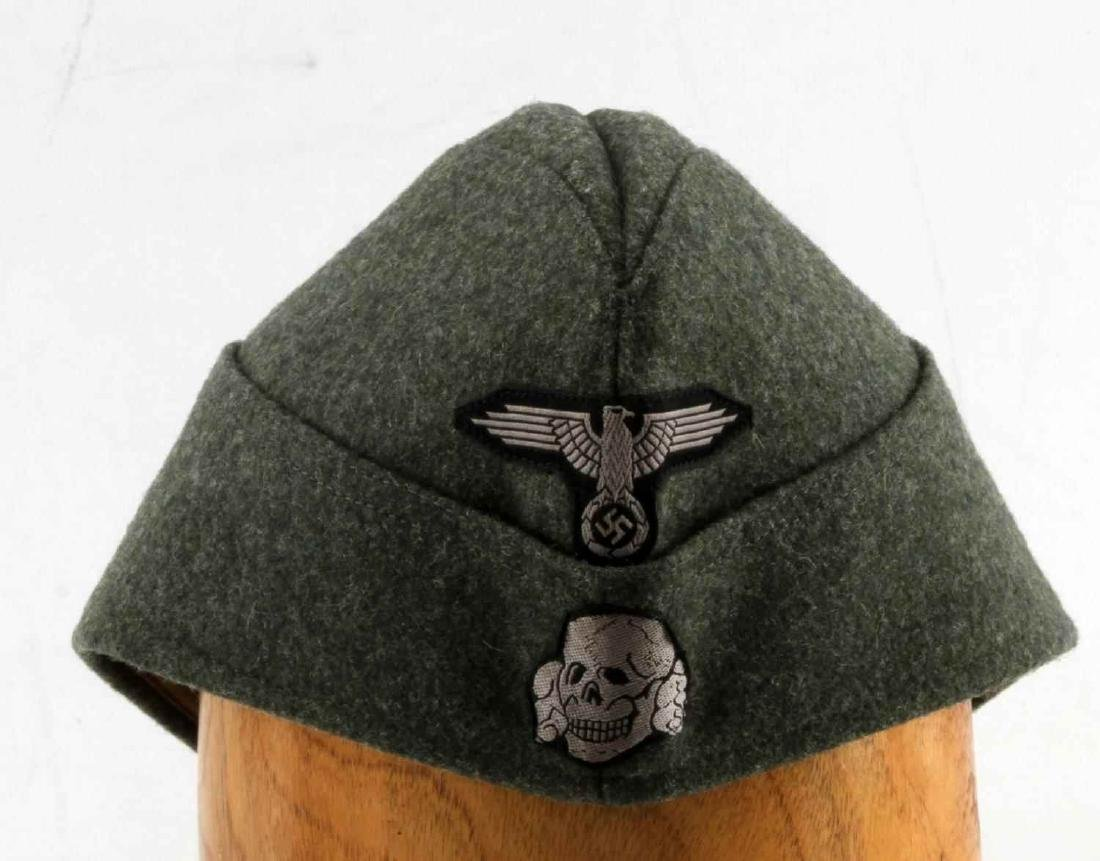 GERMAN WWII WAFFEN SS ENLISTED MANS OVERSEAS CAP