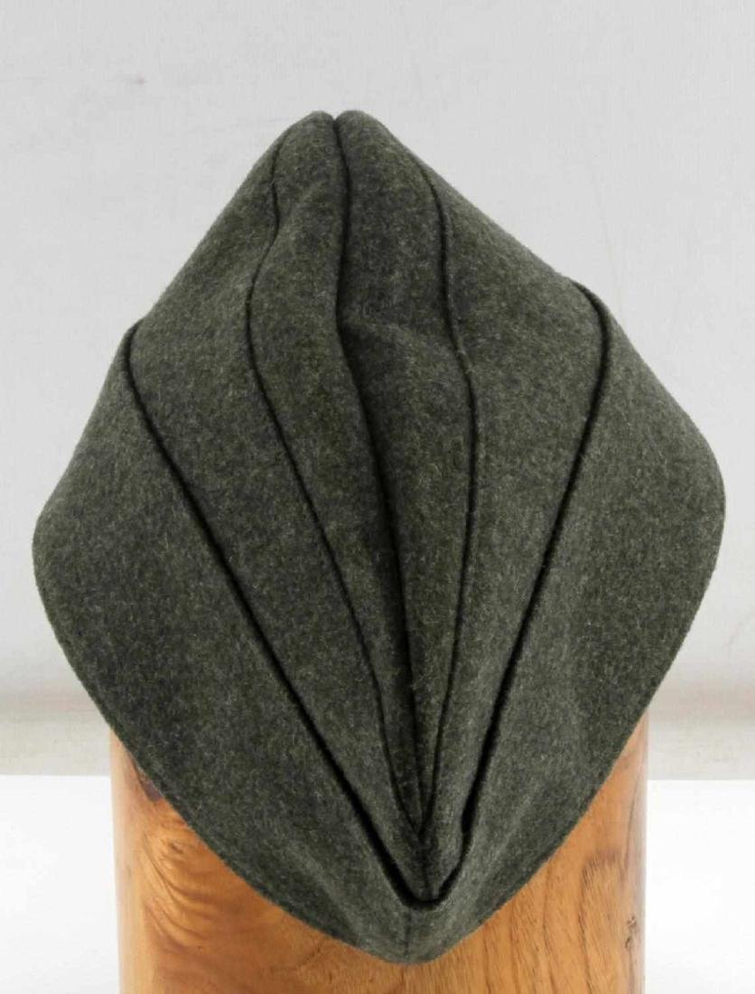 GERMAN WWII WAFFEN SS ENLISTED MANS OVERSEAS CAP - 4