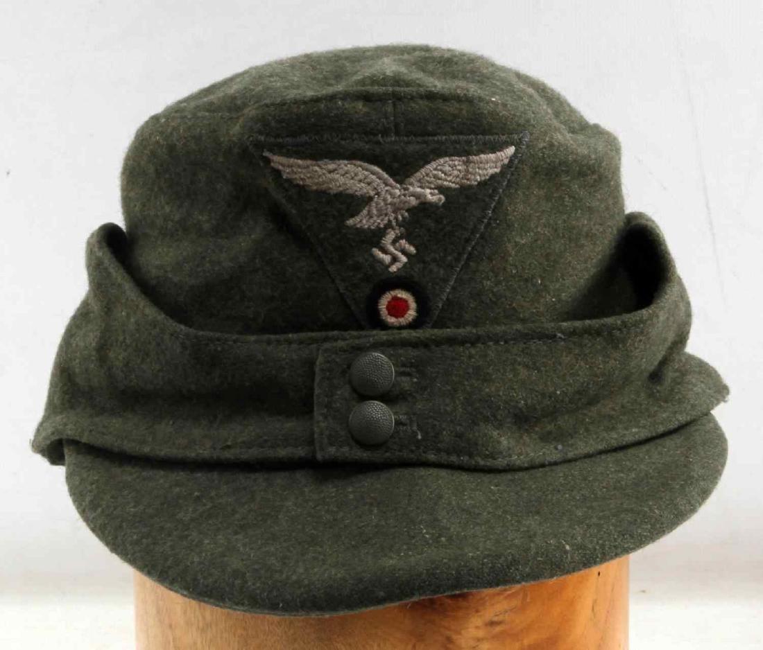 WWII GERMAN THIRD REICH LUFTWAFFE M43 WOOL CAP