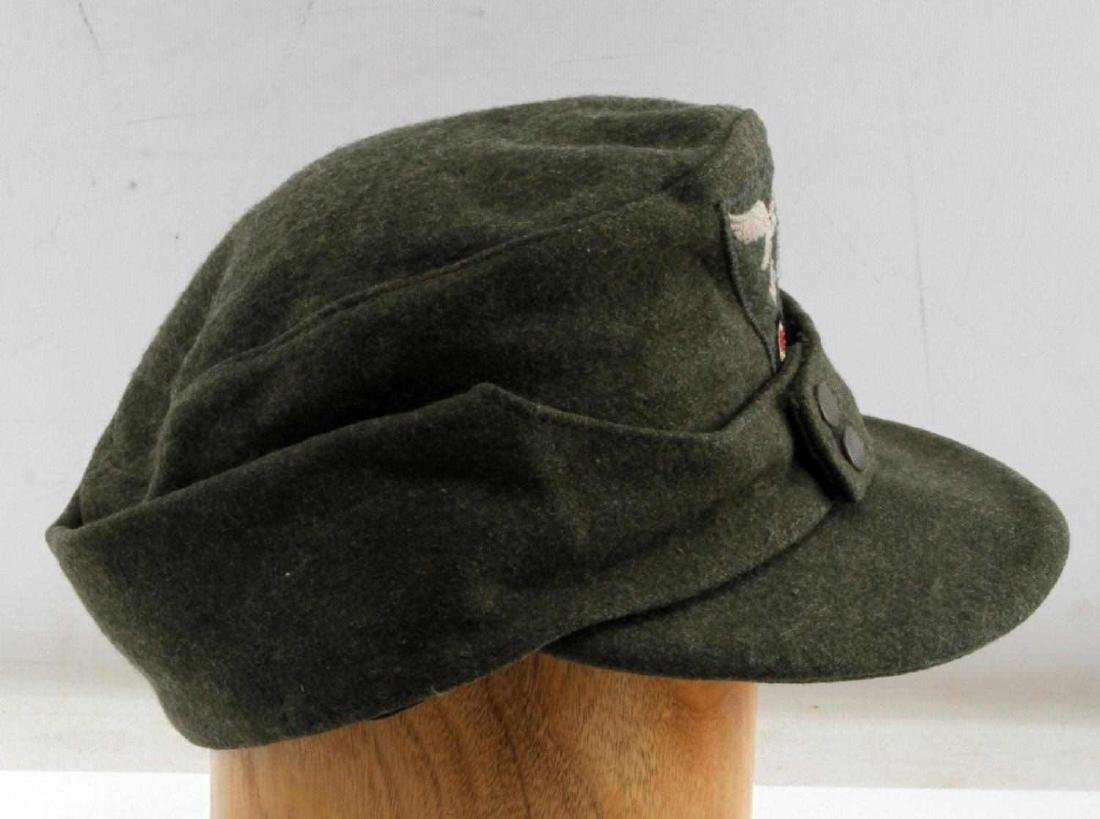 WWII GERMAN THIRD REICH LUFTWAFFE M43 WOOL CAP - 2