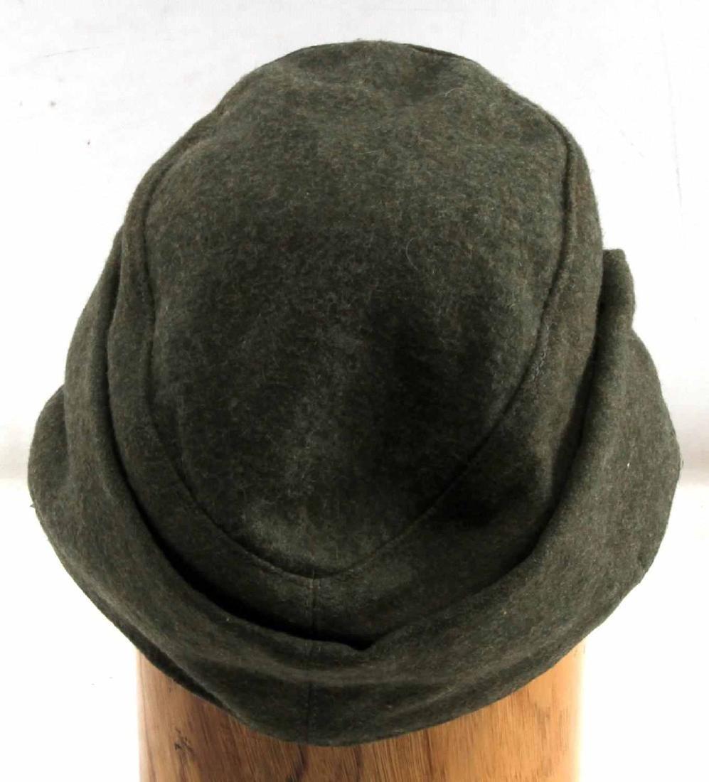 WWII GERMAN THIRD REICH LUFTWAFFE M43 WOOL CAP - 3