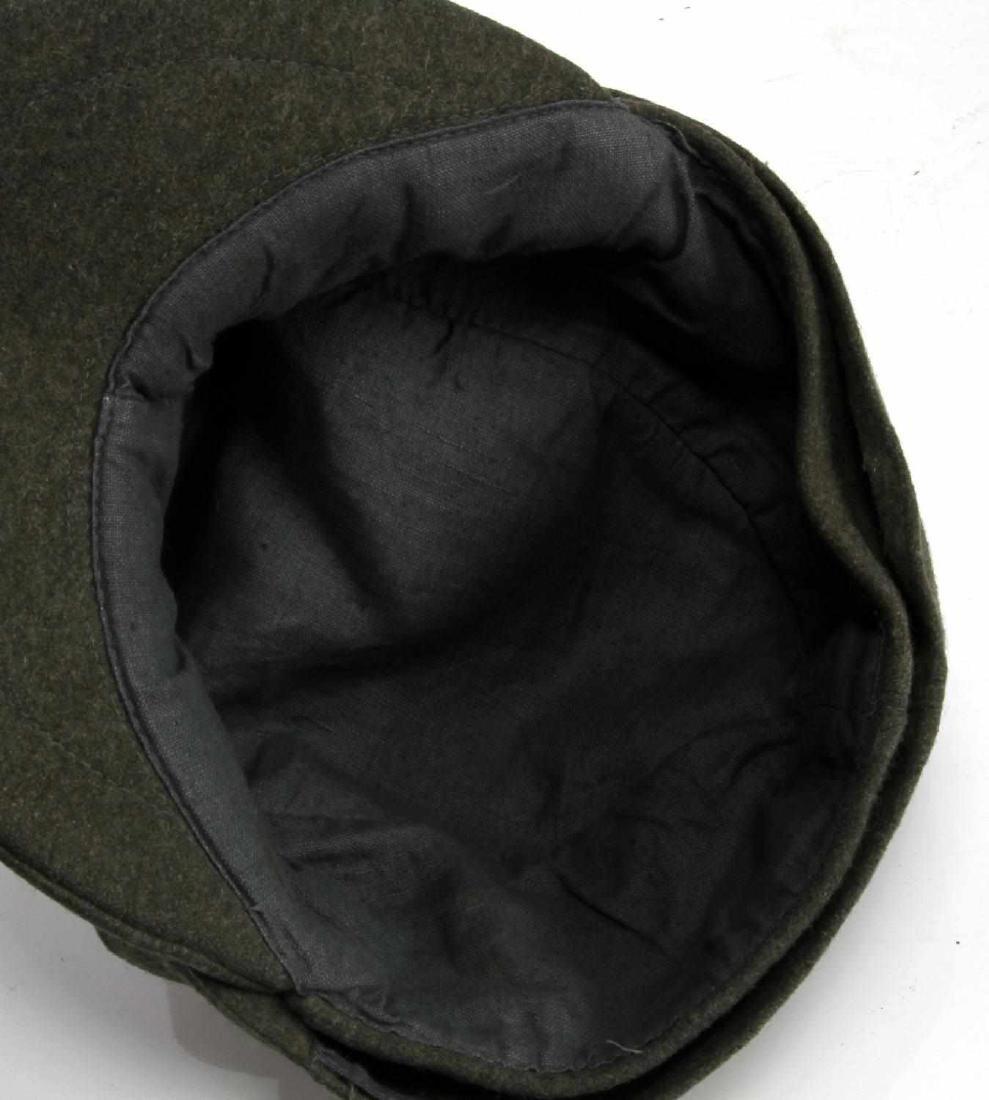 WWII GERMAN THIRD REICH LUFTWAFFE M43 WOOL CAP - 4