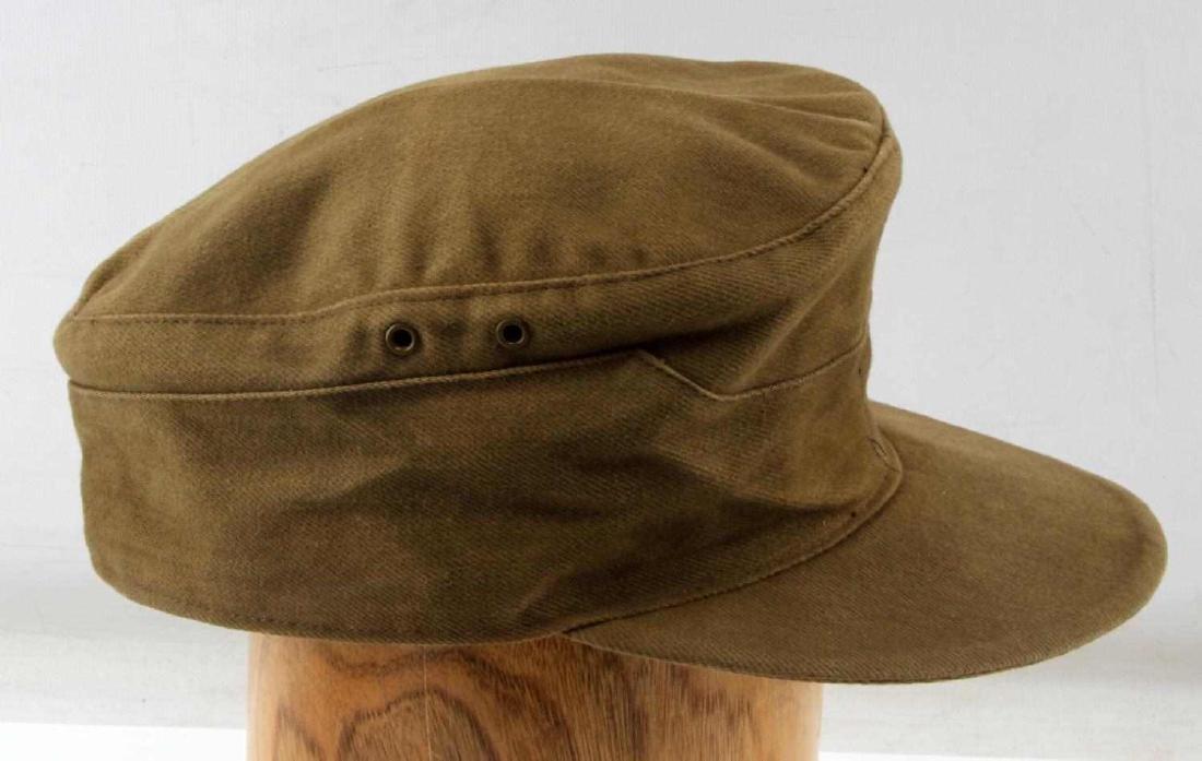 WWII GERMAN THIRD REICH AFRIKA TROPICAL FIELD CAP - 2