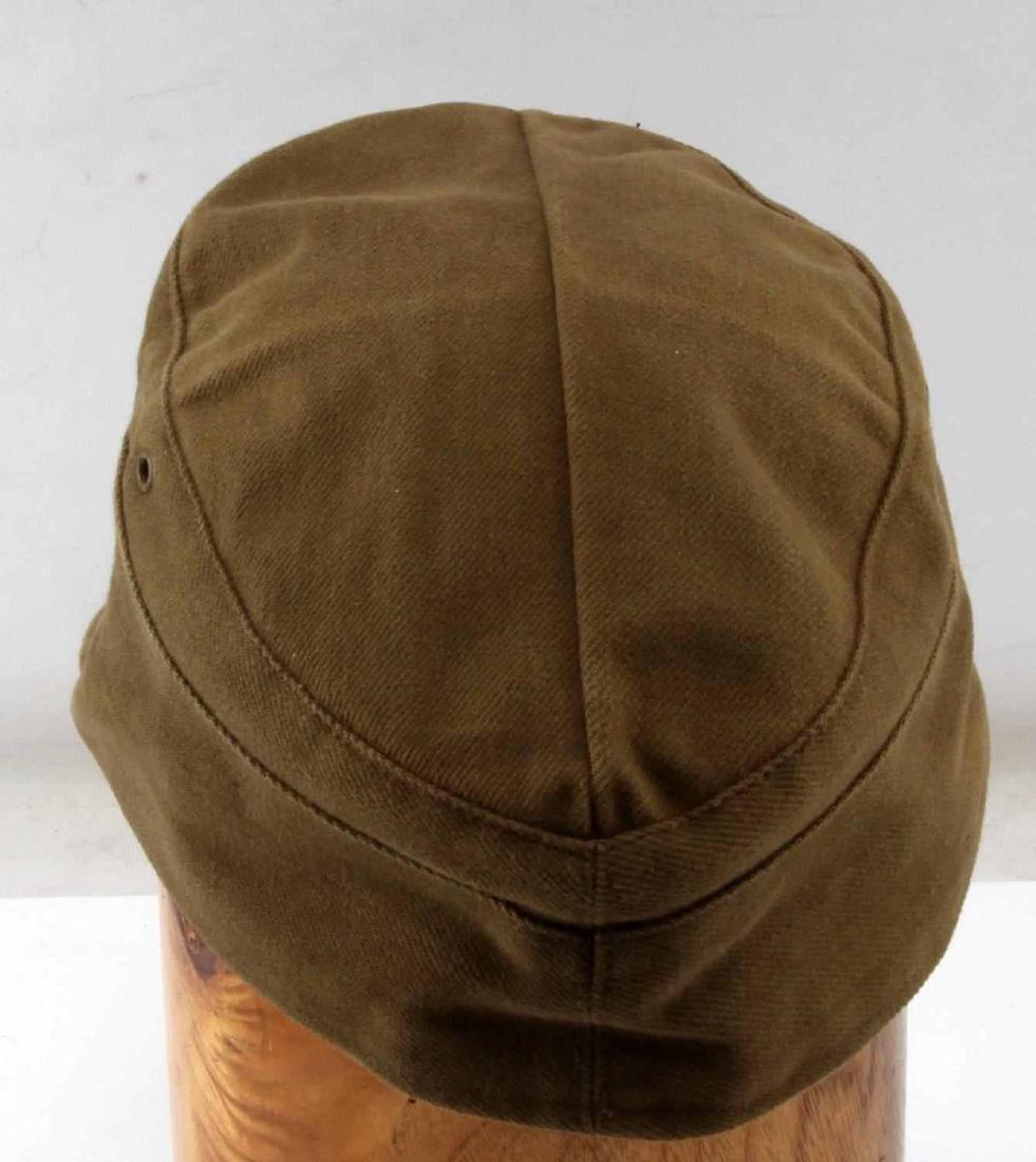 WWII GERMAN THIRD REICH AFRIKA TROPICAL FIELD CAP - 3