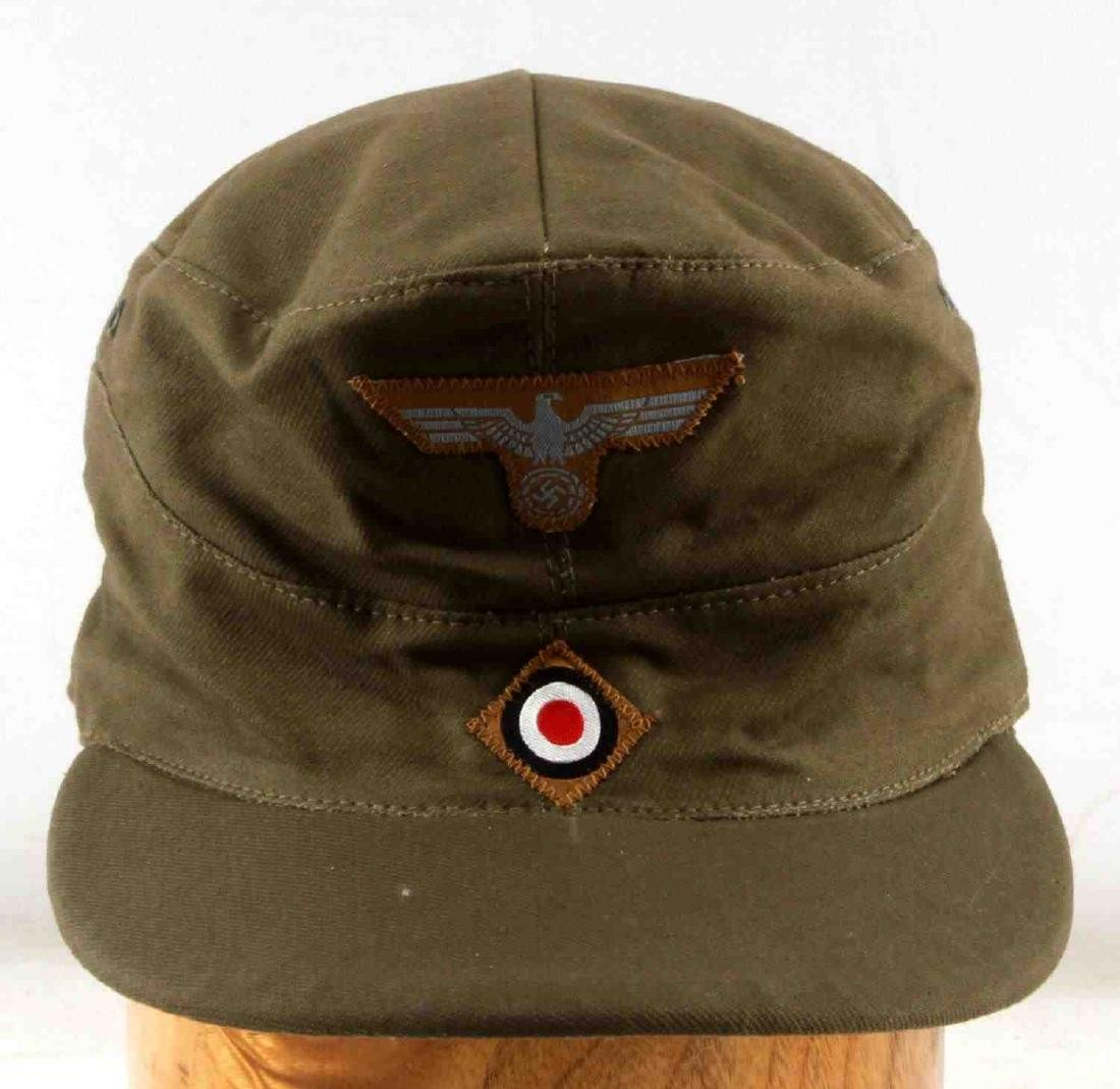 WWII GERMAN THIRD REICH AFRIKA KORP  FIELD CAP